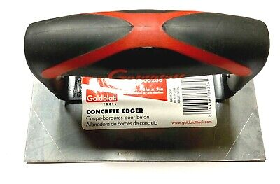 Goldblatt Concrete Edger 6 X 4 Stainless Steel G06236