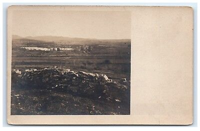 Postcard from Estate Sale in Limerick, Maine Fields/Farm/Water/Pond A46
