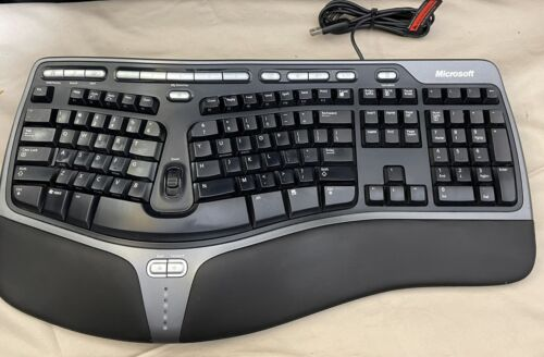 natural ergonomic keyboard usb wired 4000 v1