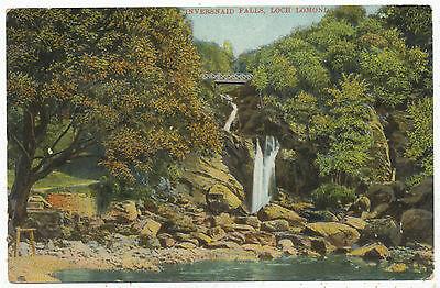 Inversnaid Falls, Loch Lomond, 1908 postcard