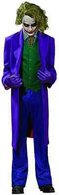 The Joker Batman Dark Knight Clown Fancy Dress Up Halloween Deluxe Adult - The Joker Clothes Dark Knight