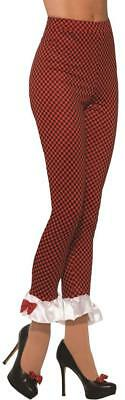 Little Red Riding Hood Leggings Pants Fancy Dress Up Halloween Costume Accessory](Halloween Costumes Red Pants)