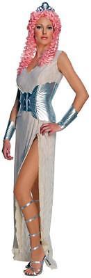Goddess Costume Medium Womens Clash of the Titans Aphrodite Adult Silver - Clash Of The Titans Aphrodite