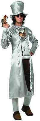 Steampunk Tin Man Wizard of Oz Victorian Fancy Dress Up Halloween Adult Costume ()
