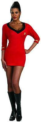 Uhura Dress Star Trek Original Series Classic Red Halloween Sexy Adult Costume - Uhura Costume Halloween