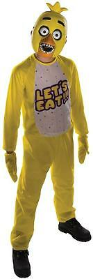 Chica Chick Five Nights Freddy's Video Game Fancy Dress Halloween Teen Costume](Teenage Halloween Games)