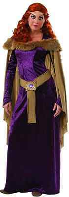 Charlemagne Medieval Game Thrones Fancy Dress Halloween Deluxe Adult Costume