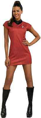 Nyota Uhura Star Trek Movie Red Fancy Dress Up Halloween Sexy Adult Costume - Uhura Costume Halloween