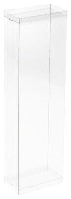 """DollSafe Clear Folding Box for 10-12"""" Dolls, 4"""" W x 2.25"""" D"""
