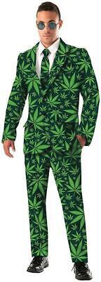 Marijuana Halloween Costume (Joint Venture Marijuana Suit Cannabis Fancy Dress Up Halloween Adult)