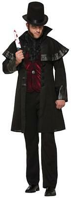 Jack Ripper Victorian London Serial Killer Fancy Dress Halloween Adult Costume ()