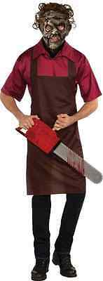 Leatherface Texas Chainsaw Massacre 3D Movie Fancy Dress Halloween Adult Costume](Leatherface Halloween Costumes)