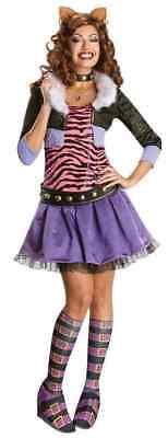 Rubie's Costumes Women's Monster High Clawdeen Wolf Adult Small NEW