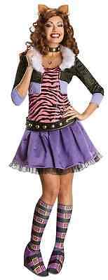Clawdeen Wolf Monster High Mattel Nick Fancy Dress Up Halloween Adult Costume (Monster High Dress Up Clawdeen Wolf)