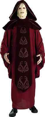 Emperor Palpatine Star Wars Sith Lord Fancy Dress Halloween Deluxe Adult Costume](Sith Lord Halloween Costume)