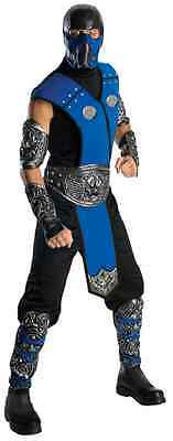 Sub-Zero Mortal Kombat Ninja Warrior Fancy Dress Up Halloween Adult Costume (Zero Halloween Costume)