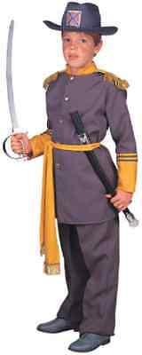 General Robert E. Lee Civil War Confederate Fancy Dress Halloween Child Costume (Robert E Lee Costume)