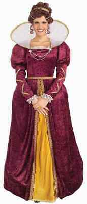 Queen Elizabeth Renaissance Princess Gown Fancy Dress Up Halloween