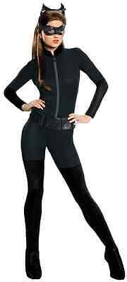 Halloween Catwoman Costume Dark Knight Rises (Catwoman Batman Dark Knight Rises Black Cat Fancy Dress Halloween Adult)