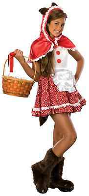Red Riding Hood Little Fairy Tale Fancy Dress Up Halloween Teen Tween Costume](Red Riding Hood Costume Teenager)