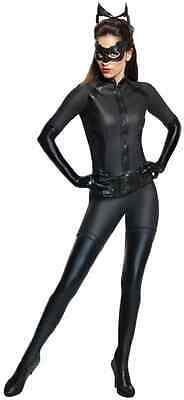 Catwoman Batman Dark Knight Superhero Fancy Dress Halloween Deluxe Adult Costume