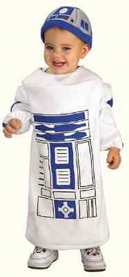 R2D2 Droid Star Wars Robot Fancy Dress Up Halloween Baby Toddler Child Costume (R2d2 Baby Halloween Costume)