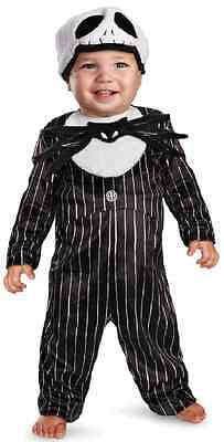 Jack Skellington Nightmare Before Christmas Halloween Deluxe Baby Child Costume](Jack Skellington Halloween Costume Child)