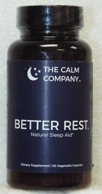The Calm Company Better Rest Natural Sleep Aid Dietary Supplement - 60