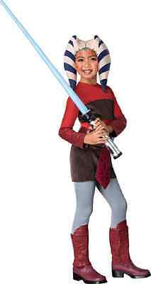 Ahsoka Tano Snips Star Wars Clone Jedi Fancy Dress Up Halloween Child (Ahsoka Jedi Kostüm)