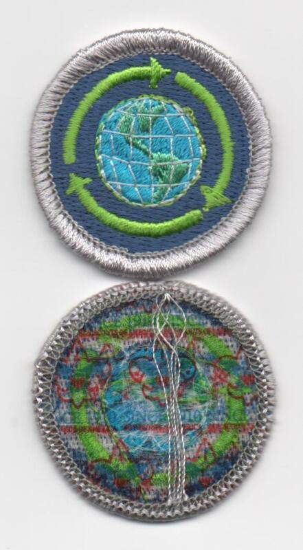 """Sustainability Merit Badge, Type L, """"Since 1910"""" Back (2012-Current)"""