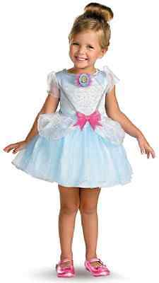 Cinderella Ballerina Disney Princess Fancy Dress Halloween Toddler Child (Disney Cinderella Ballerina Kostüm)
