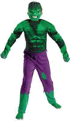 Hulk Classic Marvel Avengers Superhero Fancy Dress Up Halloween Child Costume