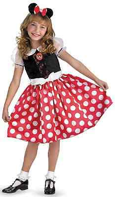 Minnie Mouse Classic Disney Cartoon Fancy Dress Halloween Toddler Child Costume - Cartoon Dress Up Costumes