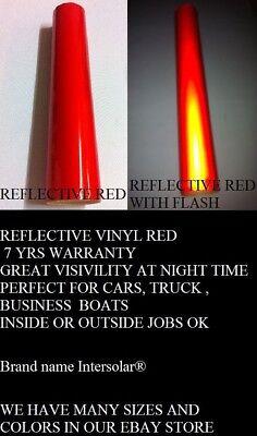 Reflective Vinyl 3 Rolls 24x10 Ft  1 Roll 12x10 Ft