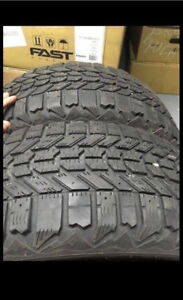 205.55.16 firestone winterforce 2 Tires 85% threat