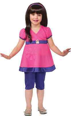 Dora the Explorer Nick Jr Pink Nickelodeon Fancy Dress Halloween Child - Dora Halloween Dress