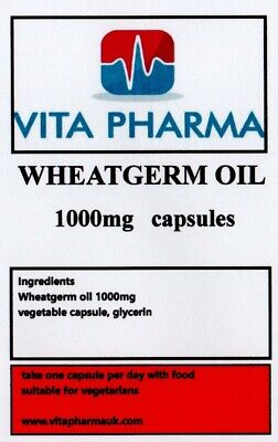 Germen de Trigo Aceite 1000mg 60 Cápsulas Colesterol Menopausia Digestivo
