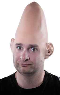 Alien Dome Cap Bald Cone Coneheads Halloween Costume Makeup Latex Prosthetic - Coneheads Costumes