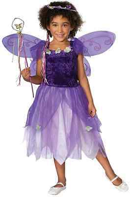 Plum Pixie Fairy Princess Purple Fancy Dress Up Halloween Toddler Child Costume