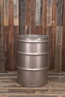 55 Gallon Stainless Steel Drum Barrel Open Top