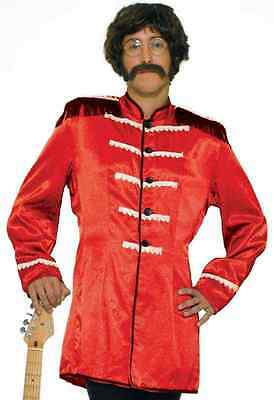 British Explosion Beatles Sgt Pepper Jacket Halloween Adult Costume 4 COLORS