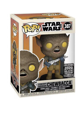 STAR WARS Funko Concept Series CHEWBACCA Figure *In Hand*