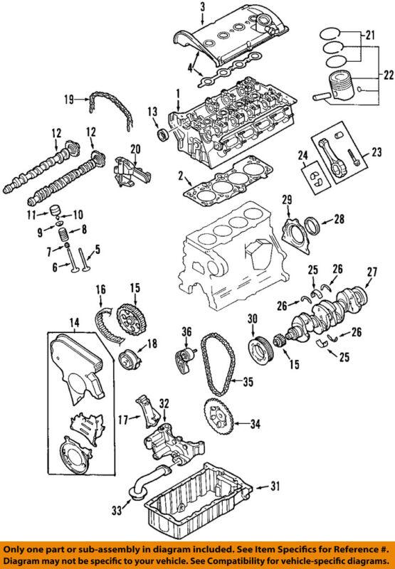 Audi Oem 2000 Tt Quattro-engine Cylinder Head 058103265gx