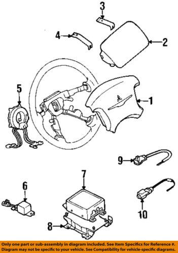 Chrysler Oem Airbag Air Bag Srs