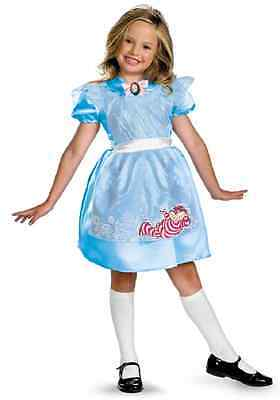 Alice in Wonderland Classic Disney Fancy Dress Halloween Toddler Child Costume