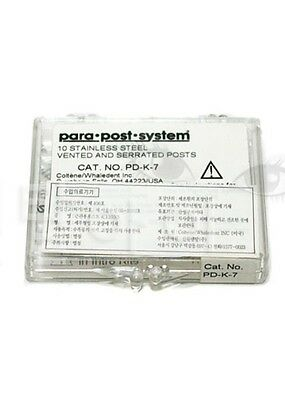 Coltene Whaledent 10 Ss Vented Serrated Post Pdk5