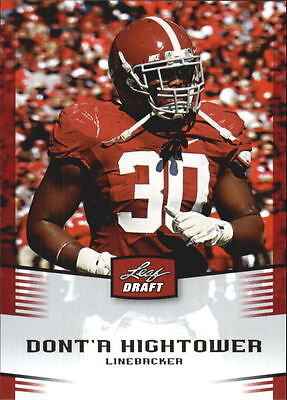 Donta Hightower  13 Card Rookie Lot  2012 Leaf Rookie Card  14  Closeout Sale