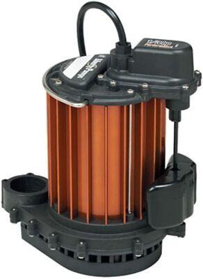 Liberty Pumps 237 13 Hp Lightweight Aluminum Sump Pump W Magnetic Float
