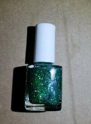 Pure Ice Nail Polish #1010- LOOKS LIKE RAIN (Green Glitter) .5 Fl Oz