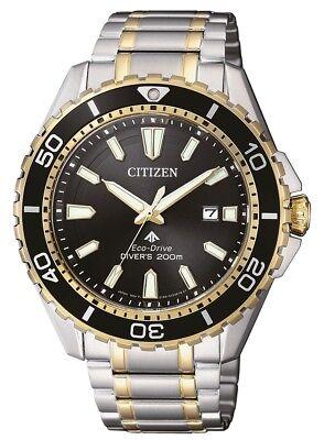 Citizen Eco-Drive Promaster Marine 200m Dive Watch. ISO 6425 Cert BN0194-57E